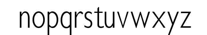 Klill-LightTallX Font LOWERCASE