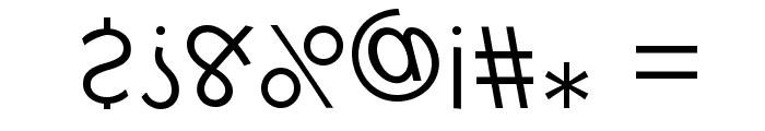 KlillForTypesetters Font OTHER CHARS