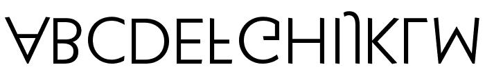 KlillForTypesetters Font UPPERCASE