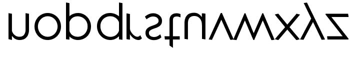 KlillForTypesetters Font LOWERCASE