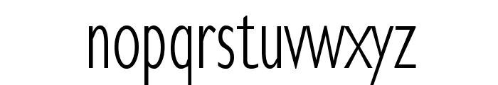 KlillLightCondensed Font LOWERCASE