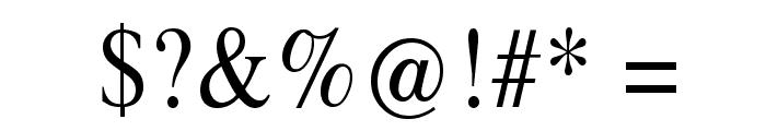 Klimes Font OTHER CHARS