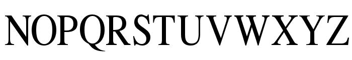 Klimes Font UPPERCASE