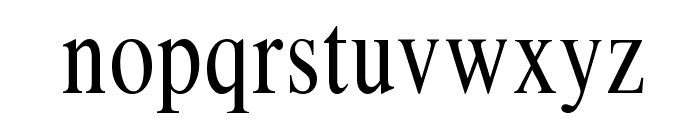 Klimes Font LOWERCASE