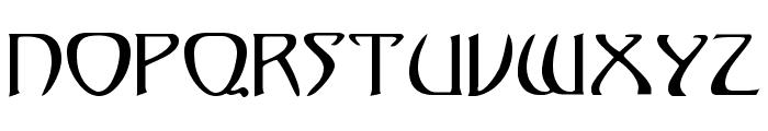 KlingonDagger Font UPPERCASE