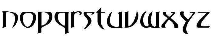 KlingonDagger Font LOWERCASE