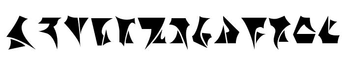Klinzhai Font LOWERCASE