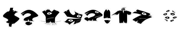 KlitschKOtiquaRound Font OTHER CHARS