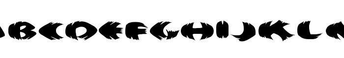KlitschKOtiquaRound Font UPPERCASE
