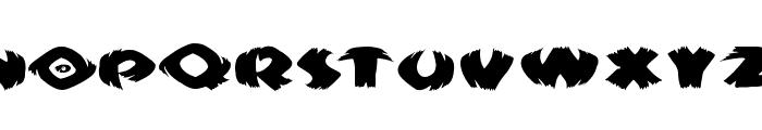 KlitschKOtiquaRound Font LOWERCASE