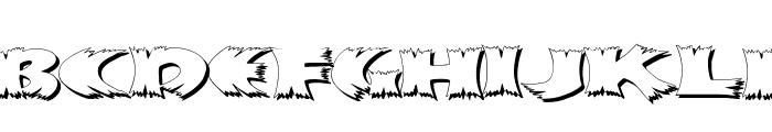 KlitschKOtiquaShadow Font UPPERCASE