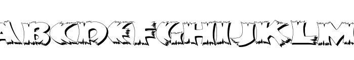 KlitschKOtiquaShadow Font LOWERCASE