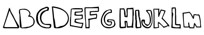 klam Font UPPERCASE