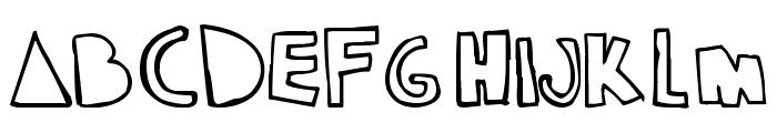 klam Font LOWERCASE