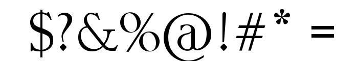kll Font OTHER CHARS