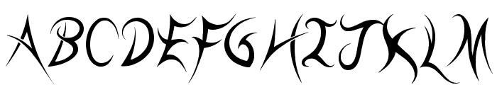 kll Font UPPERCASE
