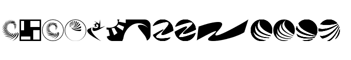 klozzbats Font LOWERCASE