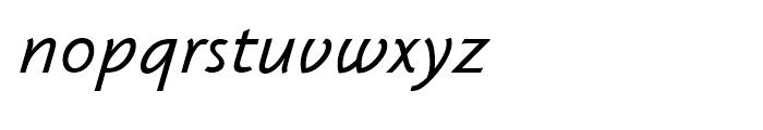 Klassika Book Italic Font LOWERCASE