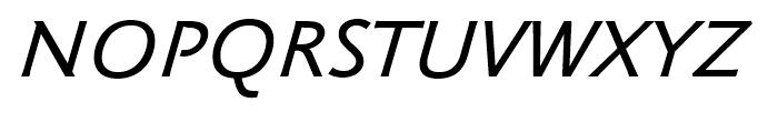 Klassika Medium Italic Font UPPERCASE