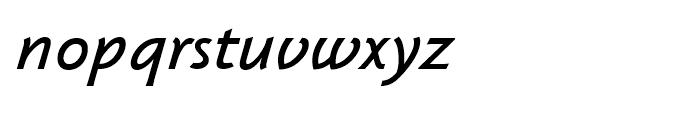 Klassika Medium Italic Font LOWERCASE