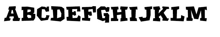 Klatter Smallcaps Font UPPERCASE