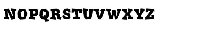 Klatter Smallcaps Font LOWERCASE