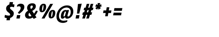 Klaus FY Black Italic Font OTHER CHARS