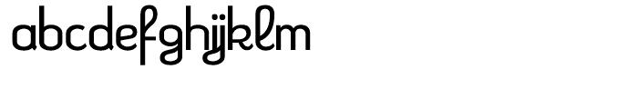 Kleptocracy Light Font LOWERCASE