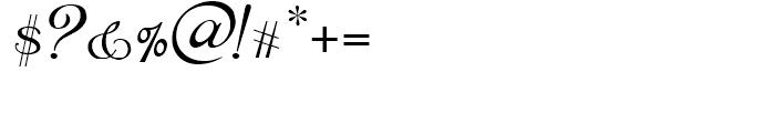 Kleukens NF Kursiv Font OTHER CHARS