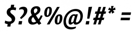 Klaus FY Bold Italic Font OTHER CHARS