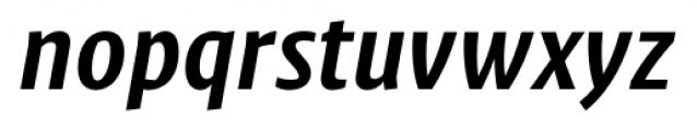 Klaus FY Bold Italic Font LOWERCASE
