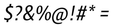 Klaus FY Italic Font OTHER CHARS