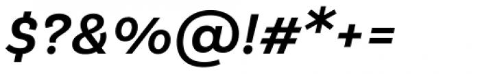 Klainy Medium Italic Font OTHER CHARS