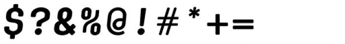 Klamp 105 Mono Bold Oblique Font OTHER CHARS