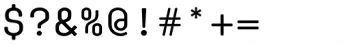 Klamp 105 Mono Medium Font OTHER CHARS