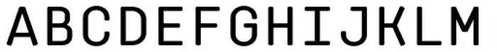 Klamp 105 Mono Medium Font UPPERCASE