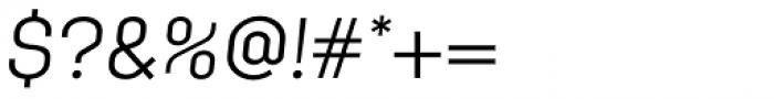 Klamp 205 Book Oblique Font OTHER CHARS