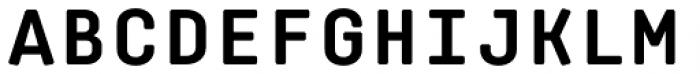 Klamp 205 Mono Bold Font UPPERCASE