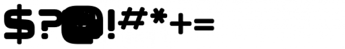 Klauss Font OTHER CHARS
