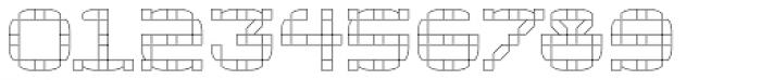 Klaxon One Outline Font OTHER CHARS