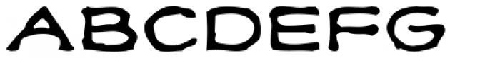 Klee Print Font UPPERCASE