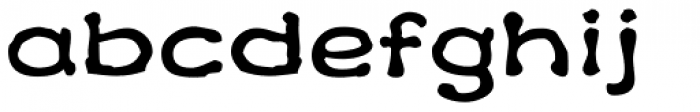 Klee Print Font LOWERCASE