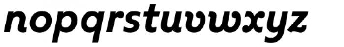 Kleide Bold Italic Font LOWERCASE