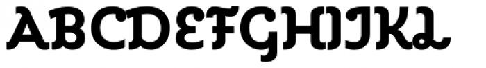 Kleide Bold Font UPPERCASE