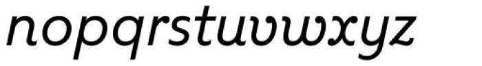 Kleide Italic Font LOWERCASE