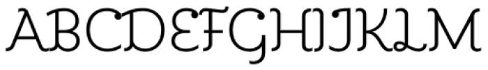 Kleide Light Font UPPERCASE