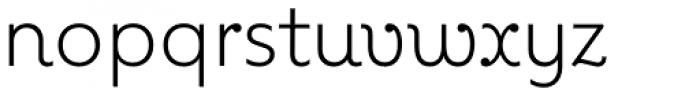 Kleide Light Font LOWERCASE