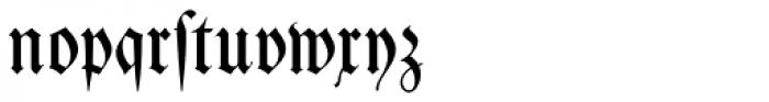 Kleist Fraktur Font LOWERCASE