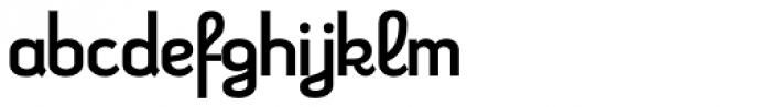 Kleptocracy Regular Font LOWERCASE