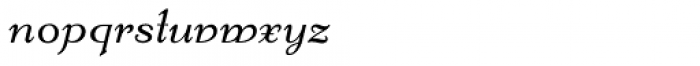 Kleukens Kursiv NF Font LOWERCASE